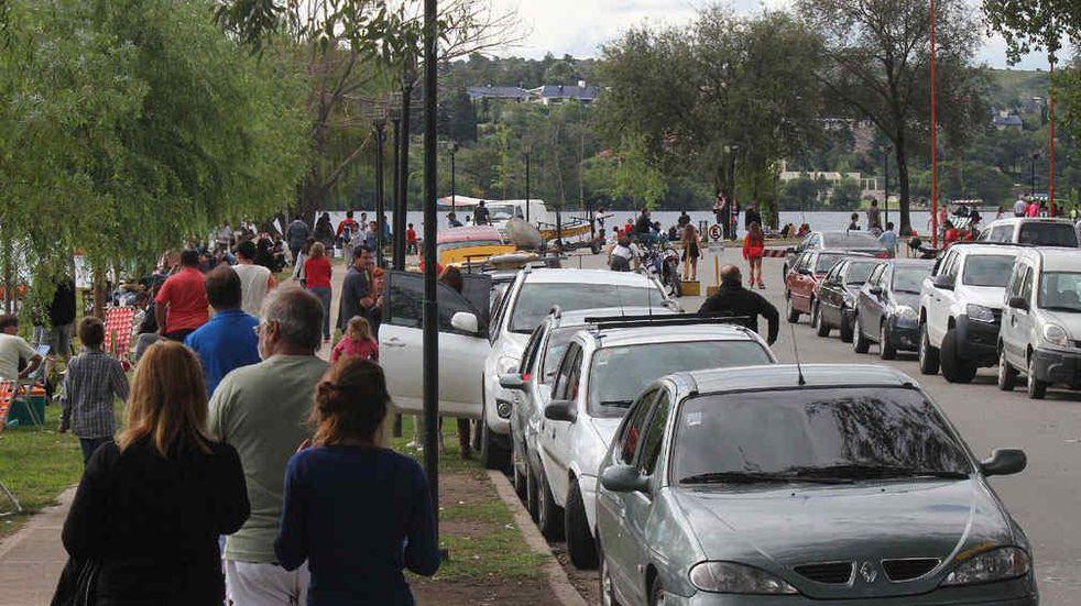 Fuerte movimiento en los accesos al Valle de Punilla este Viernes Santo