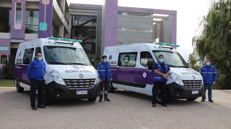 La Provincia compró 9 ambulancias de alta complejidad