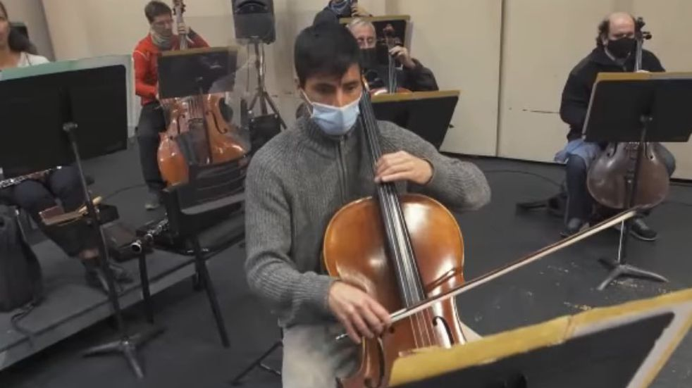 Por un caso de COVID-19 suspenden el concierto de la Orquesta Sinfónica de Salta
