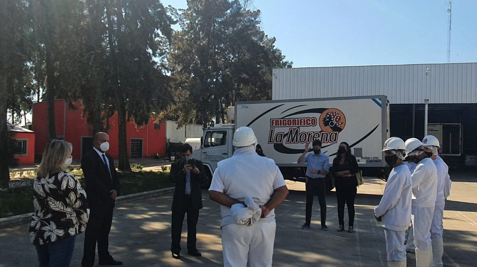 Referentes del Ministerio de Trabajo, Empleo y Seguridad Social visitaron Gualeguaychú