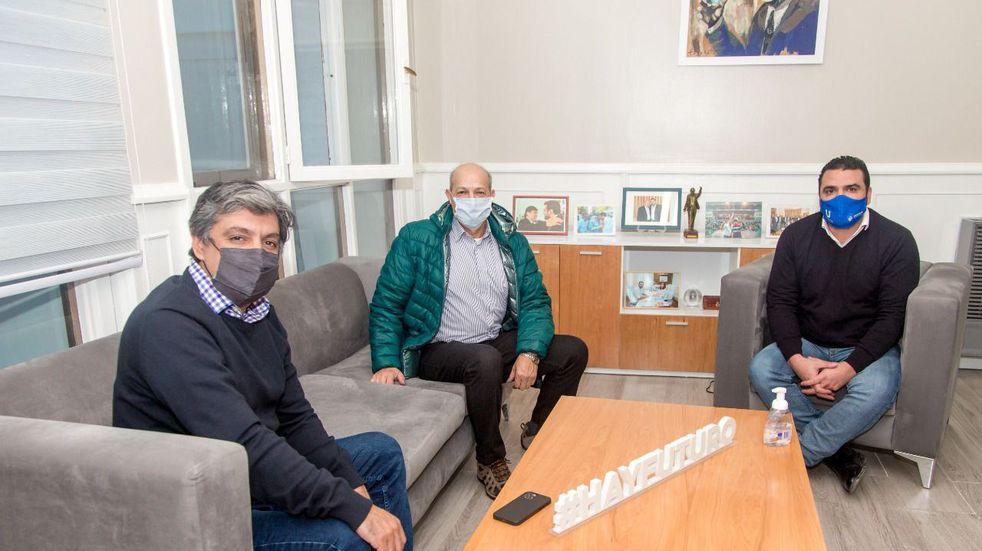 El Intendente Vuoto se reunió con Ricardo Ferreyra