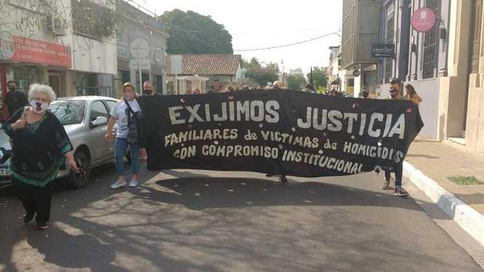 Marchan en Corrientes en contra de la violencia institucional