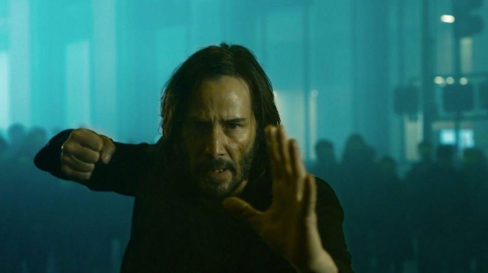 """Se estrenó el tráiler oficial de """"Matrix 4″"""