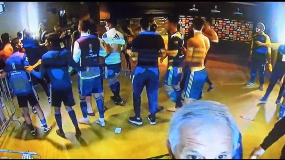 Incidentes en Boca-Mineiro: los brasileños señalaron a los argentinos como los responsables