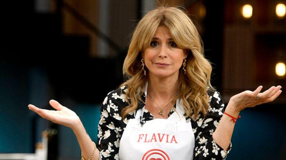 Masterchef Celebrity 2: Flavia Palmiero fue eliminada