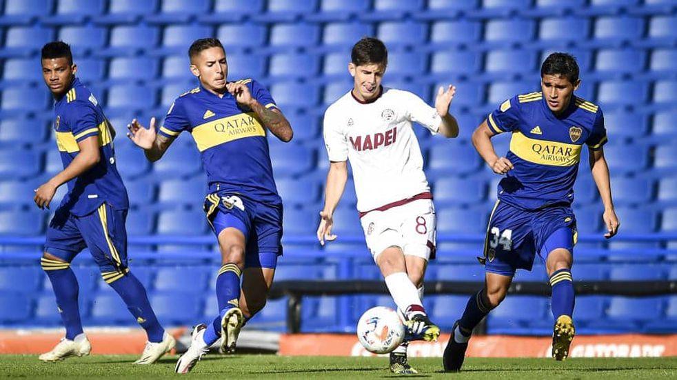 Boca aseguró ante Lanús su lugar en los cuartos de final de la Copa de la Liga Profesional