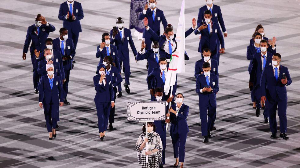 Los atletas refugiados compiten por segunda vez en los Juegos Olímpicos e irán por la gloria