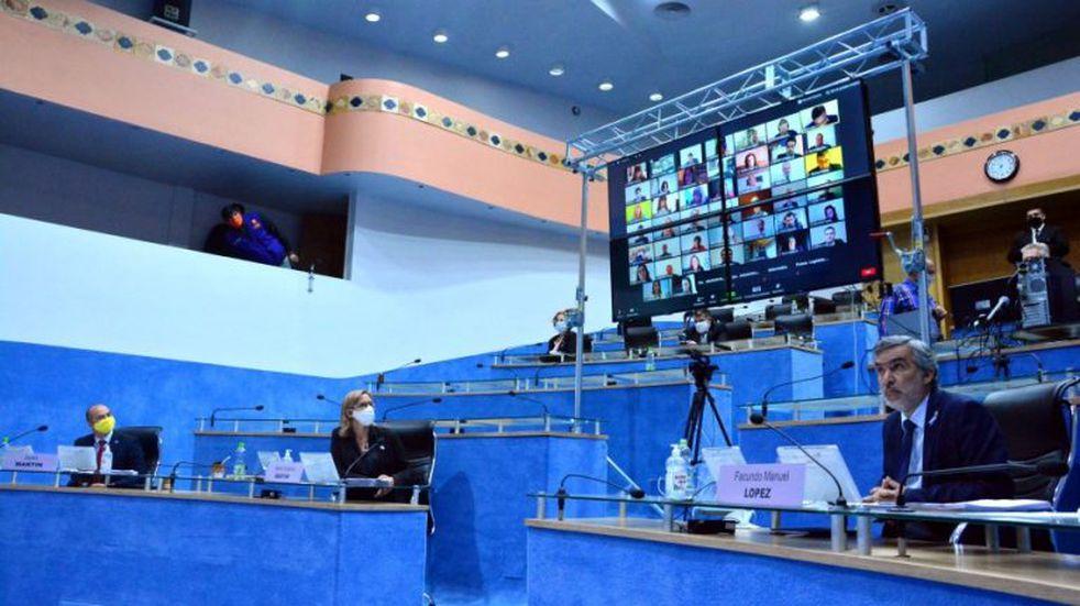 Río Negro sancionó la emergencia sanitaria en su primera sesión virtual