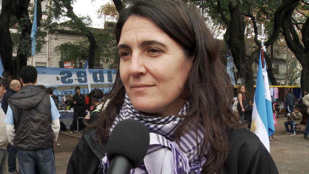 María Cecilia Rodríguez. (DyN).