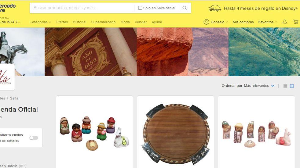 Emprendedores salteños podrán vender sus productos en Tienda Oficial Salta