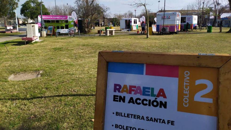 Rafaela en Acción llega a la Plaza de la Democracia