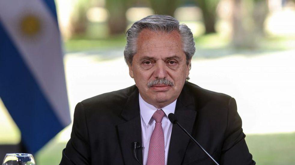 El saludo del presidente Alberto Fernández a los santiagueños