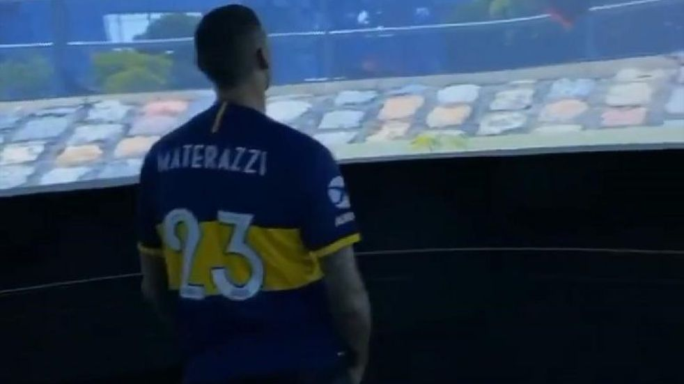 El italiano Marco Materazzi estará en la Bombonera acompañando a Daniele De Rossi