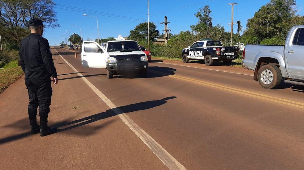 Accidente vial en Oberá dejó como saldo un joven herido