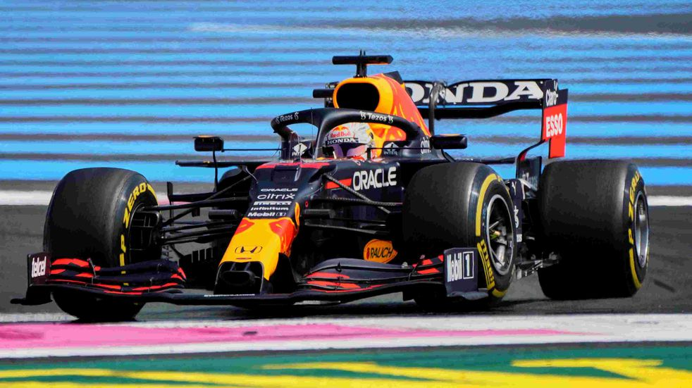 F1: Verstappen, autor de la pole en Francia, por la revancha de Bakú