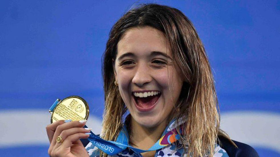 Delfina Pignatiello: de pensar en abandonar la natación a convertirse en una referente argentina