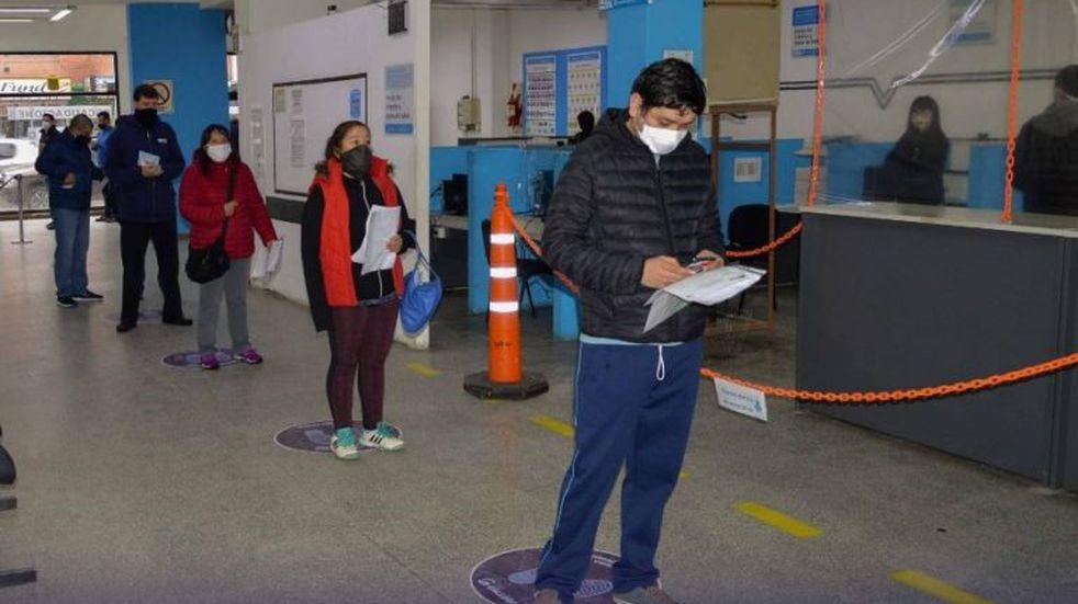 Renovación de licencias en Río Gallegos