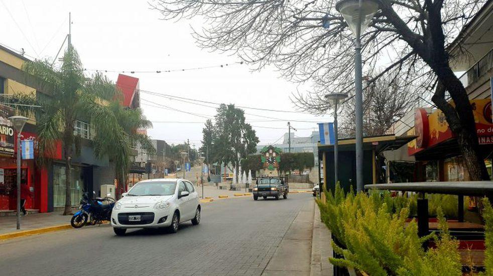Martes frío, con viento sur y lluvias en Carlos Paz