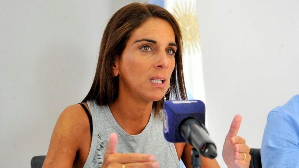 Ministra de Hacienda, Natalia Zabala Chacur. Foto: ANSL.
