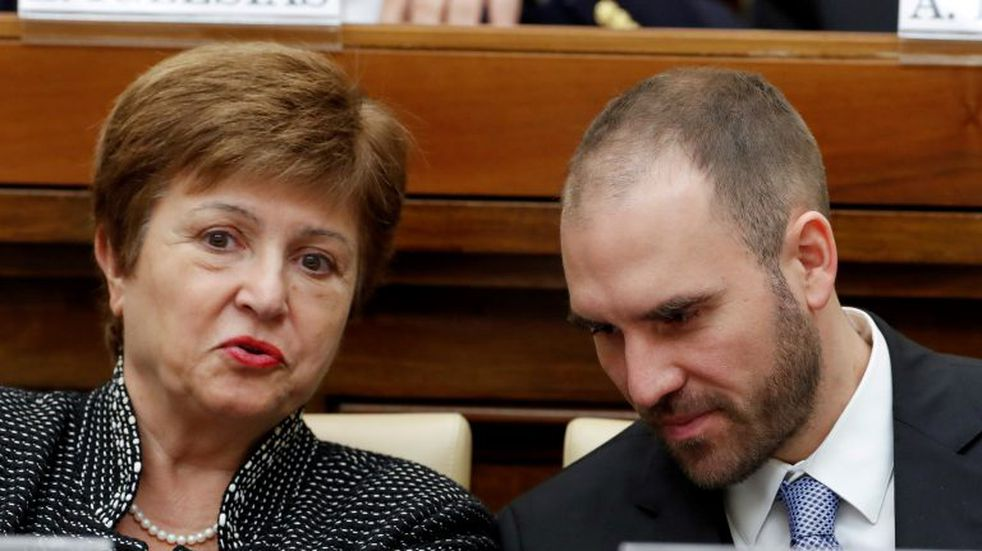 Kristalina Georgieva dijo que el FMI seguirá apoyando a la Argentina