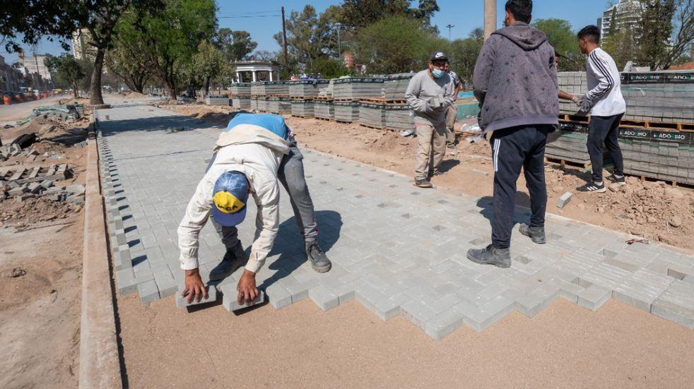 El avance de las obras en Costanera Norte y Bv. Las Heras. (Municipalidad de Córdoba)