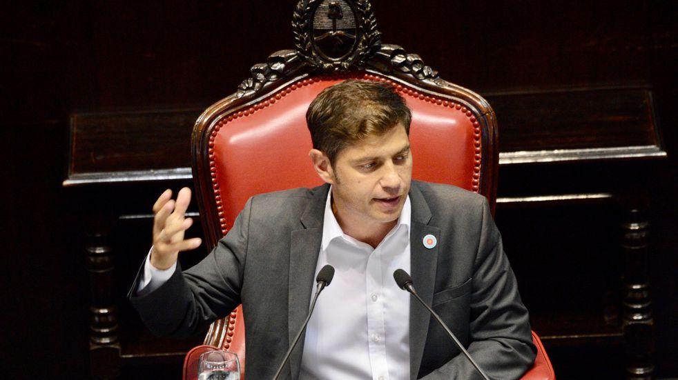 Kicillof ponderó la campaña de vacunación de la Provincia y criticó los operativos de la Ciudad de Buenos Aires