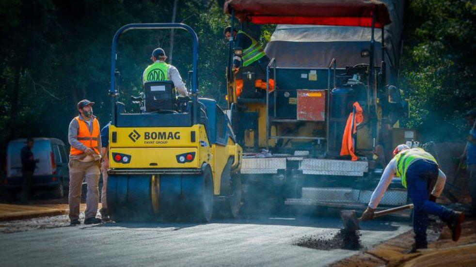 Vialidad Provincial ejecuta obras de infraestructura urbana en Loreto