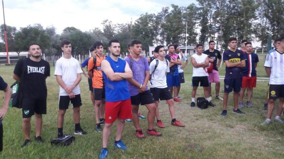 El Cultural de Arroyito comenzó la pre temporada en fútbol