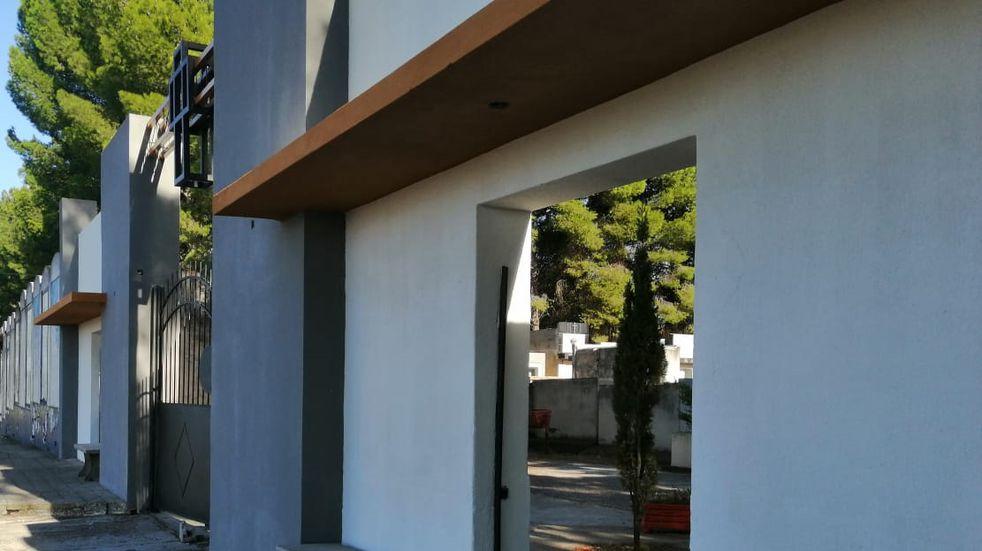 El Municipio indicó que continúan las obras en el Cementerio