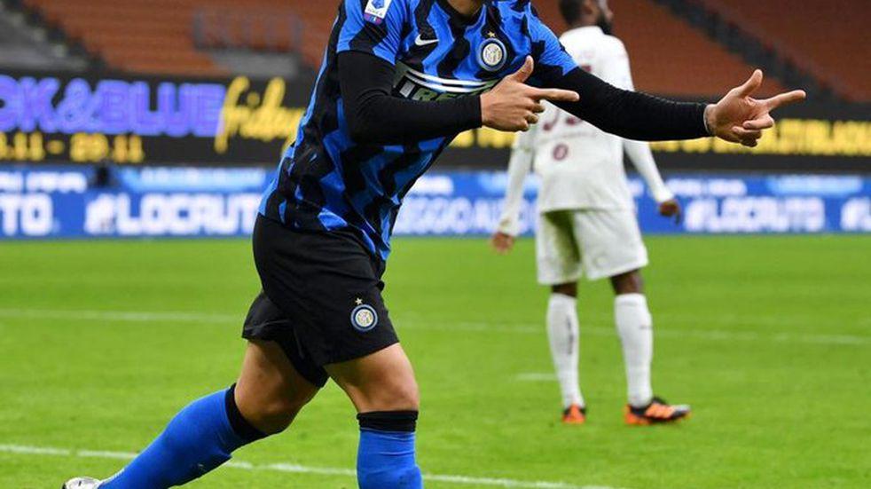 El bahiense Lautaro Martínez convirtió en la victoria del Inter