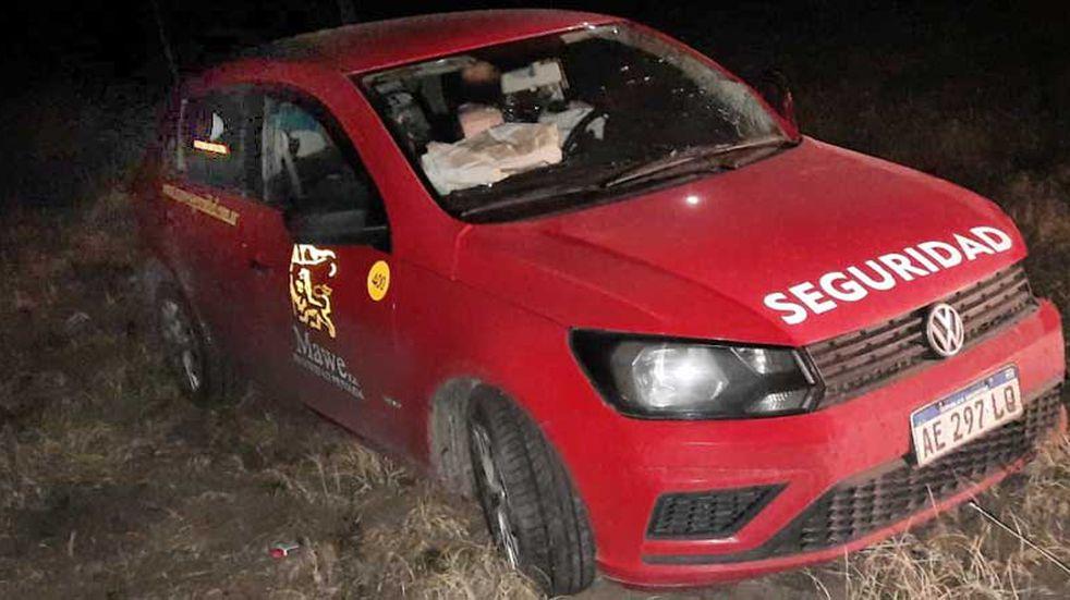 Choque y vuelco en la ruta 188 dejó como saldo tres heridos