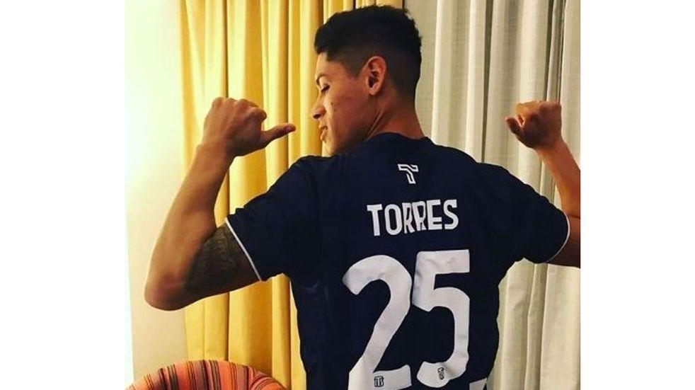 Federico Torres, primer refuerzo de Talleres, se sumó al plantel