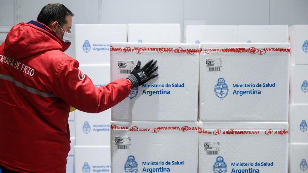 Vacunación en Córdoba: llegaron nuevas dosis de Sinopharm