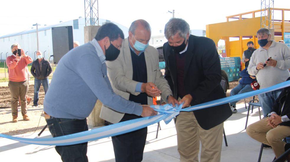 Quedó inaugurado el Centro de Acopio Transitorio de envases de agroquímicos