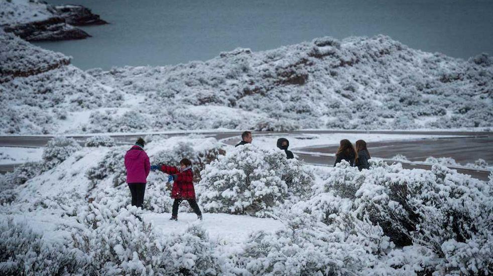 Tres sitios de Mendoza entre los 10 más fríos del país