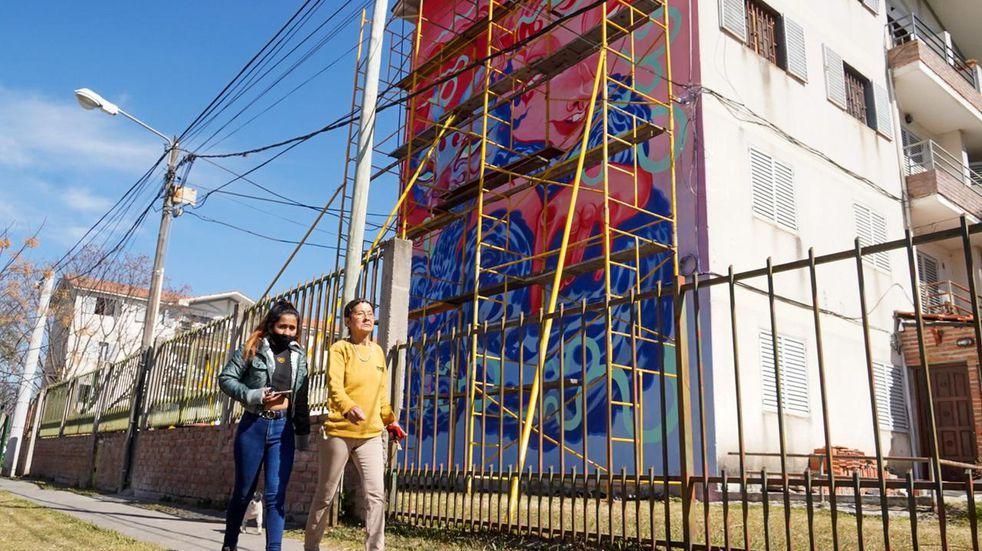 Hasta el 30 de septiembre se puede participar del Concurso Distrito de Murales