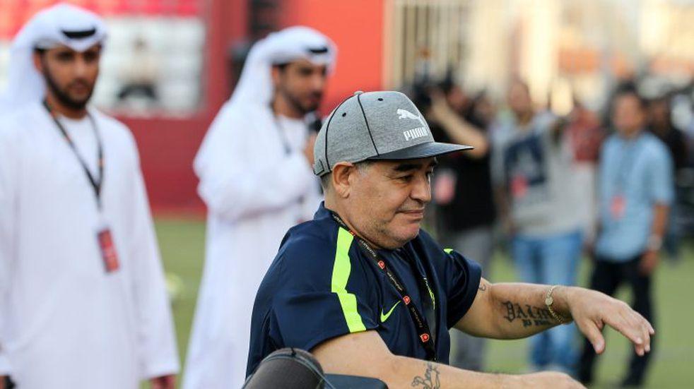Maradona fue furor en las redes: entrenó al ritmo de J Balvin y Maluma
