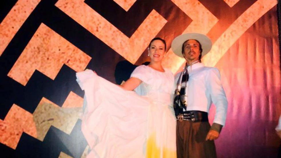 Seis bailarines entrerrianos se presentaron en la noche más convocante de Cosquín