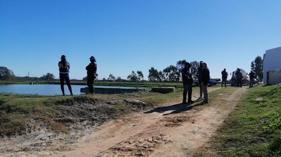 La Policía Federal allanó la Cooperativa de Agua de Pueblo Belgrano