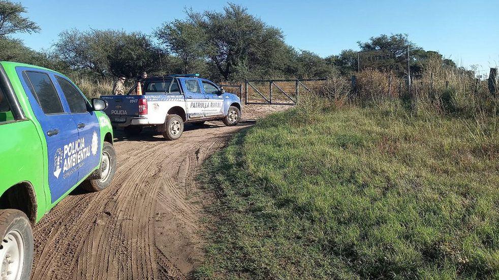 Villa Huidobro: detectan desmonte gracias a una denuncia