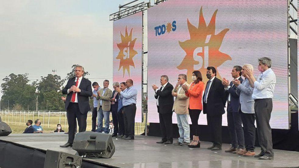 Alberto Fernández lanzó la campaña del Frente de Todos en Tucumán.