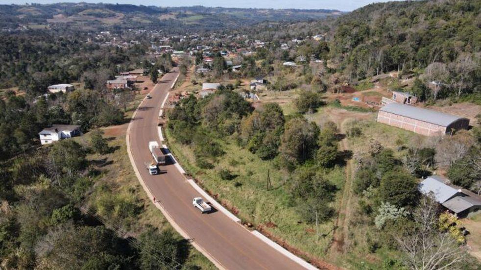 Se encuentra próxima a finalizar la ampliación del acceso a la localidad de El Soberbio