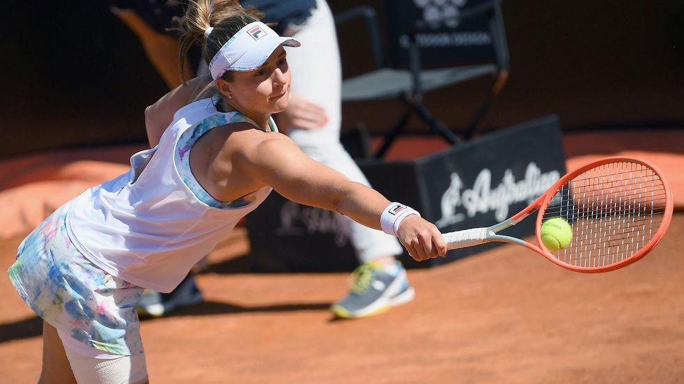 La tenista de 24 años quedó eliminada en octavos de final luego de sumar dos victorias.