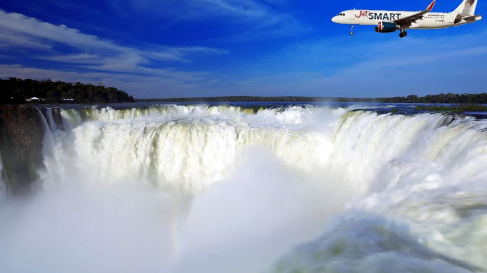 JetSMART regresa con vuelos que unirán Buenos Aires-Puerto Iguazú