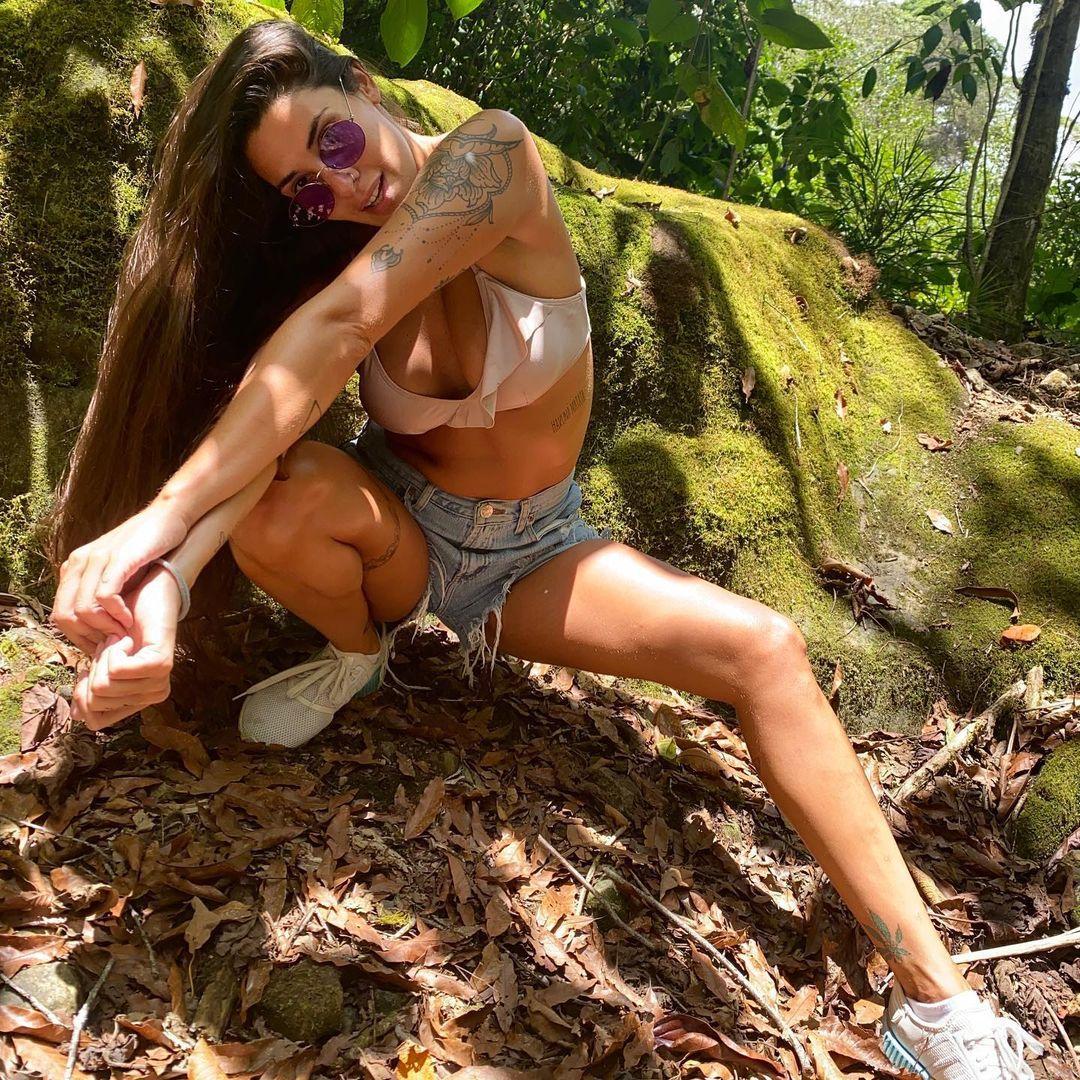 Ivana Nadal, libre en la playa (Foto: Instagram)