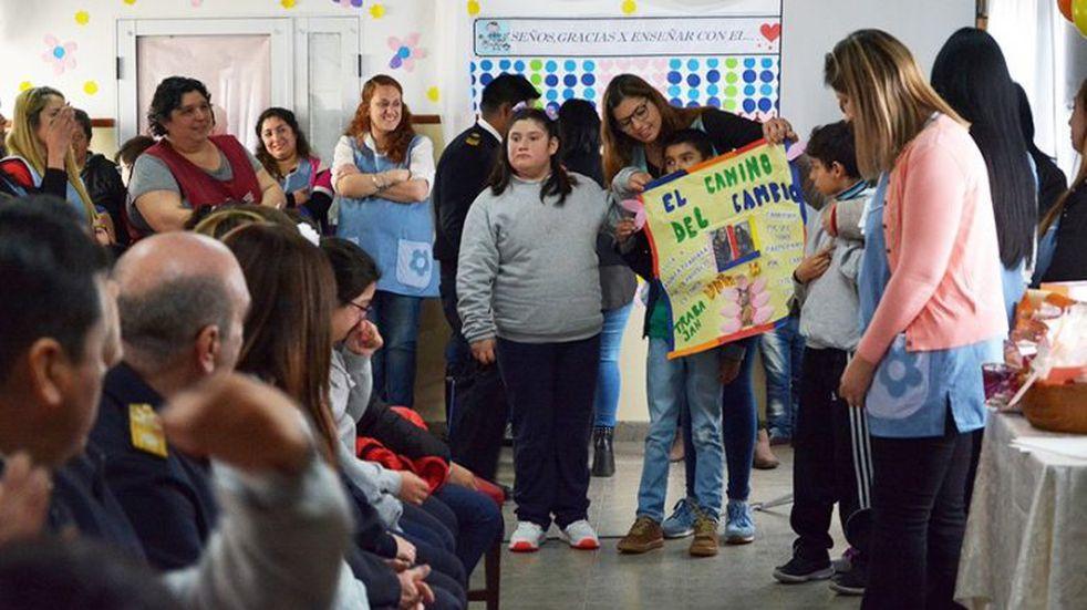 Acto del Día del Maestro en la Escuela Especial Stella Maris