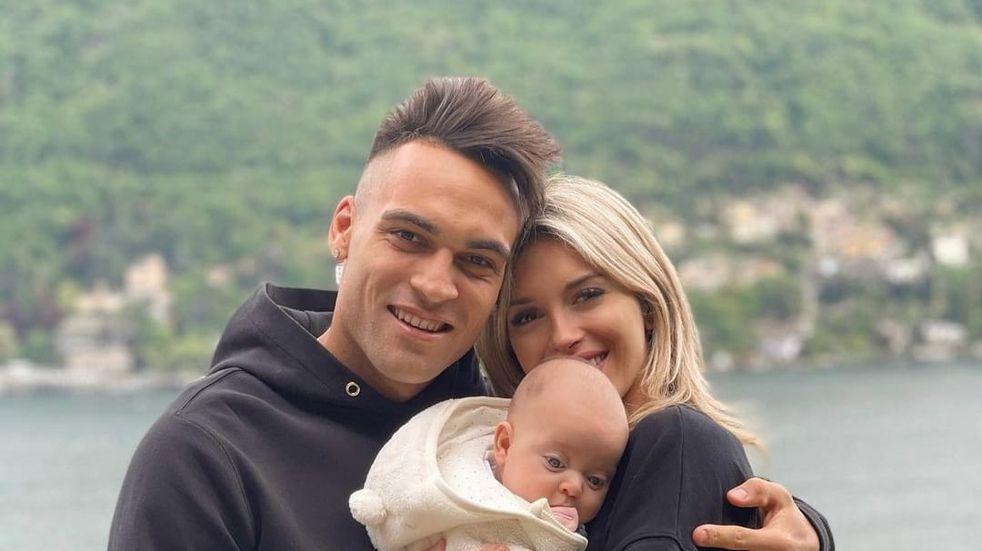 Agustina Gandolfo celebró el triunfo de Lautaro Martínez con una tierna postal junto a su hija Nina