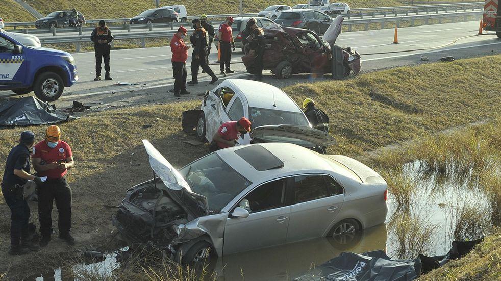 Tragedia de la circunvalación: encontraron cocaína en la sangre del conductor