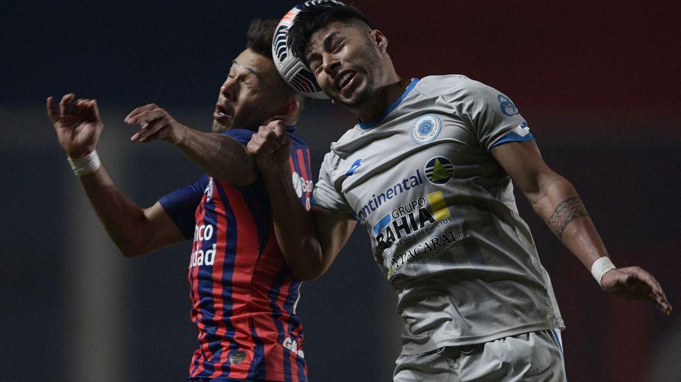 San Lorenzo y 12 de Octubre empataron 1-1 por la Copa Sudamericana