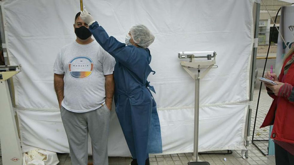 Guaymallén continúa con los puestos de evaluación de índice de masa corporal